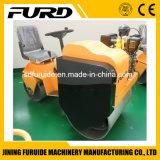 mini doppio rullo di vibrazione del compatto del timpano di 800kg Furd con la pompa di Sauer (FYL-850S)