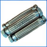 Conducto galvanizado extremo del metal flexible del bramido 1 del borde del NPT