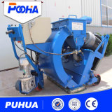 Hand Push Wheel postage shot Blasting machine with Dust collector