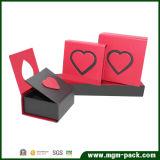 Коробка ювелирных изделий изготовленный на заказ картона красная бумажная