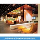 Sofa de console d'entrée d'hôtel de villa tapissé par tissu (SY-BS41)