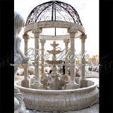 Fuente de mármol Mf-427 del calcio de la antigüedad de la fuente del granito de la fuente de la piedra de la fuente