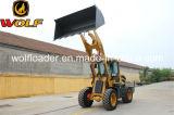 chinesische Rad-Ladevorrichtung der Vorderseite-2.8t mit Maschinen-Teilen