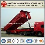 dumping pesante di auto della parte posteriore di trasporto di carico 3-Axles/rimorchio del ribaltatore semi