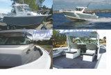 Barco de pesca de aluminio (Centro de la cabina 625)