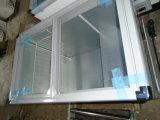 Congelatore piano SD/Sc-230 della visualizzazione della cassa del portello di vetro di scivolamento