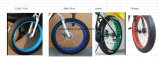 Finlandia 2017 novo gosta pneu gordo de 500W bicicleta a melhor lítio 10 velocidade bateria polímero de 26X4 elétrico ''