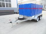 Eixo dobro reboque galvanizado da caixa (TR0307B)