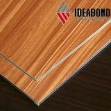 Ideabondの木製の一見のアルミニウム合成のパネル(AE-304)