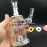 Da qualidade de vidro de vidro da tubulação do Hitman da tubulação da plataforma petrolífera equipamentos de vidro de fumo da SOLHA da tubulação