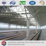 Telhado da estrutura do fardo da tubulação de aço para a estação de comboio