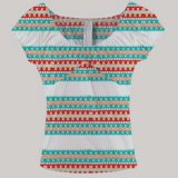 Kleine Menge-Minimum fertigt afrikanische Frauen-Kleidung Wachs-Gewebe-Ankara-Kente kundenspezifisch an