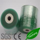 Pellicola verde dell'involucro di stirata del PVC per cavo e funi