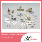 Hohe Leistung N32-N55 Dauermagnet mit NdFeB Material für Motor