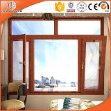 Freie und schöne Beschaffenheit importierte Kiefernholz, plattierte feste Kiefernholz-Aluminiumneigung u. Drehung-Fenster-Flügelfenster-Fenster