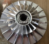 Diesel Locomotive Turbohcargerのための極度のAlloy Disc Assembly Turbine Disc Used