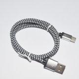 Cabo trançado do USB do USB 3.1 do metal novo da caraterística