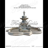 Fontana di pietra di marmo Mf-873 di Metrix Carrara del giardino del granito