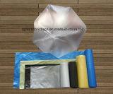 Мешок отброса HDPE обыкновенной толком загерметизированный звездой пластичный