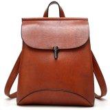 Das senhoras de couro da bolsa da trouxa do plutônio das mulheres saco de escola ocasional do saco de ombro para meninas