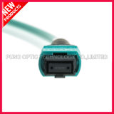 12 섬유 OS2 다중 상태 MPO-MPO 광섬유 접속 코드