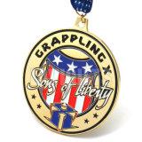 도매는 주문 선물 금속 금 아이 컵 스포츠 포상 아이들 메달 큰 메달을 개인화한다