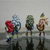ドラゴンの球のマンガのキャラクタのアクション・フィギュア人形