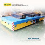 Tabella elettrica del carrello di trasferimento della direzione del trasporto sul pavimento del cemento