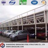 Costruzione di blocco per grafici d'acciaio prefabbricata per il Carport/garage d'acciaio