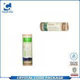 Tubes de papier de baume de languette d'Eco Papier d'emballage de la beauté la plus neuve
