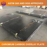 Placa da folha de prova do carboneto do cromo para o misturador concreto