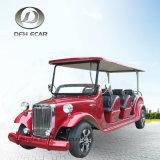 Vehículo clásico eléctrico del golf del vehículo de pasajeros del carro de 8 Seater