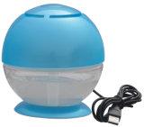 Mini épurateur de arrosage d'air de véhicule à la maison thérapeutique bleu de l'arome Hdl-528