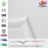 Прокатанная HDF кожа двери Китая деревянная белая (JHK-003)