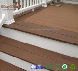 2017 Decking en bois du plastique WPC de maintenance libre antidérapante de technologie neuve