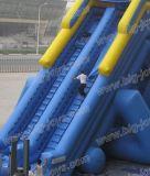 大人のための巨大で膨脹可能なスライド、熱いカバ水スライド(BJ-KY37)