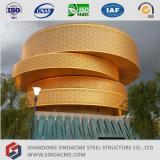 Construction préfabriquée de musée de structure métallique