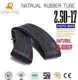 Tube en caoutchouc normal de haute résistance initial 2.50-17 de chambre à air de moto