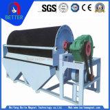 Separador magnético mojado permanente del tambor magnético de la alta calidad/de la tubería para el oro/el cobre/la arena pesada