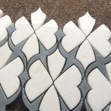 Плитка Thassos специального типа белая водоструйная, плитка мозаики