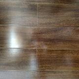 O lustro elevado de HDF AC4 encerou o revestimento de madeira laminado estratificado