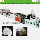 Машинное оборудование 1220mm продукции штрангя-прессовани доски пены коркы PVC