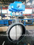 Elektrisches Stellzylinder-Oblate-Drosselventil