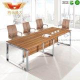 증명되는 SGS 8 사람을%s 현대 멜라민 회의실 회의장 책상에 의해 (HY-H06) 승인되는 숲