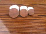 Пластичный деревянный Cream опарник упаковывая, пластичный деревянный опарник