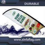 Kundenspezifische Entwurfs-Feder-Markierungsfahnen-Fahne, Strand-Markierungsfahnen-Fahne
