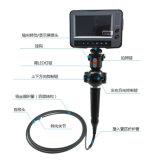 """endoscópio video da indústria nova de 5.5mm com a articulação da ponta 4-Way, 5.0 """" LCD, cabo de teste de 6m"""