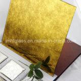 Espejo apenado A014 de oro del espejo del patrón del espejo antiguo