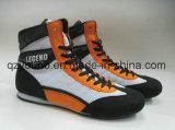 Облегченные Breathable шнуруют вверх низкие верхние ботинки бокса для людей