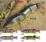 200mm coulant l'attrait de Pike d'une première le prix bon marché usine --- La qualité a fait Crankbait de pêche en plastique dur fait sur commande - Wobbler - attrait de pêche de Popper de cyprins